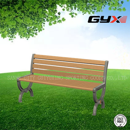 New Style Park Bench in Summer