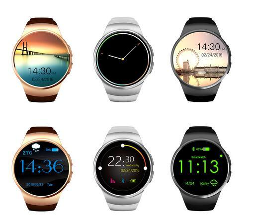 "Intelligent Wearable Round 1.3"" Smart Watch Cell Phone"