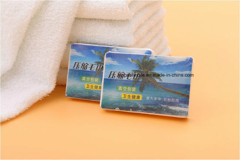 100% Cotton Compressed Towel Gift Towel Sales Promotion Towel