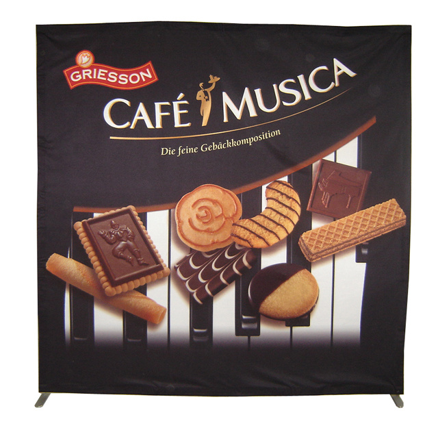Exhibition Fabric Pop up Backdrop Stand Display (PU-10-B)