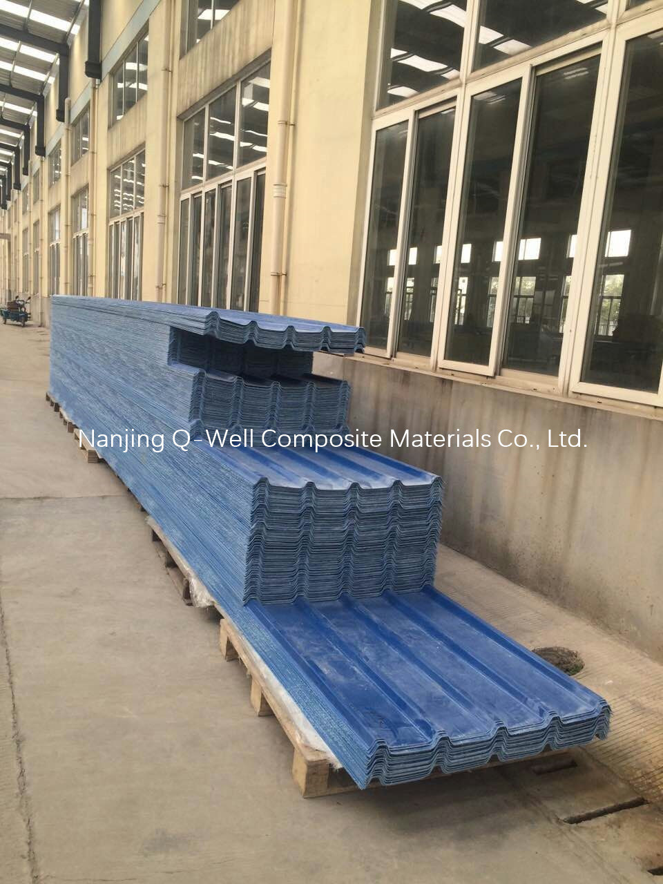 FRP Panel Corrugated Fiberglass/Fiber Glass Color Roofing Panels W172005