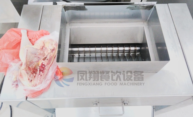 Industrial Electric Automatic Poultry Chicken Cutting Dicing Processing Machine