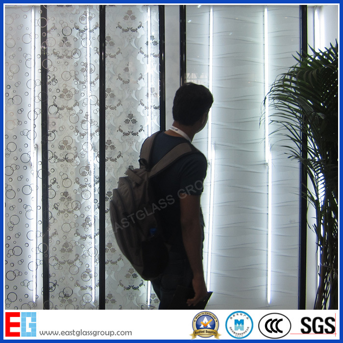 Acid Etched Pattern Glass, Frost Pattern Glass