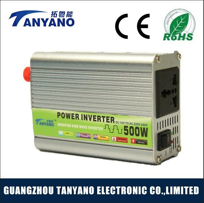 DC AC 500W Modified Sine Wave Power Inverter for Low Price