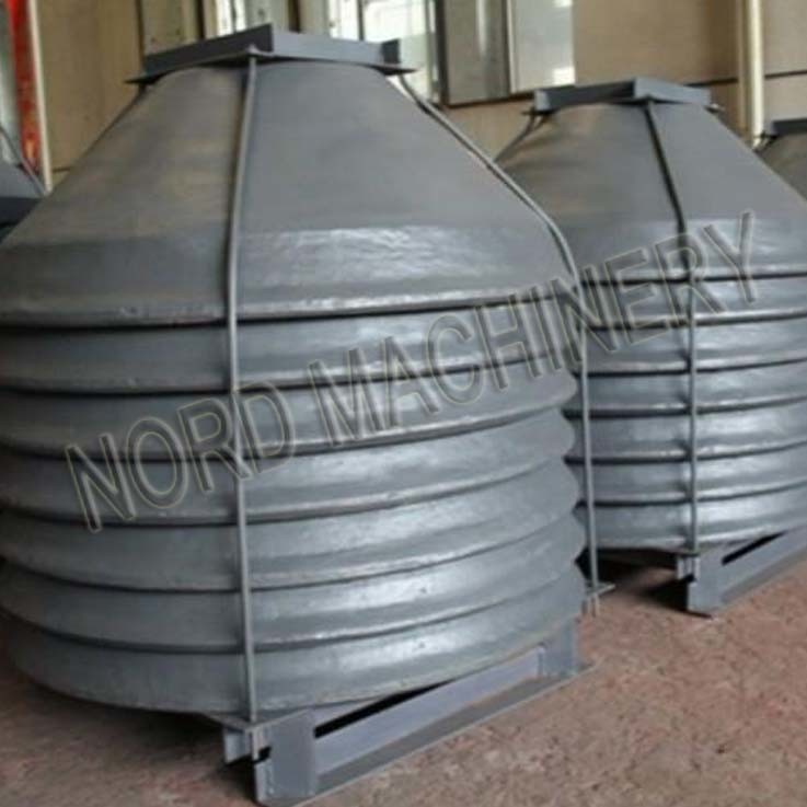 Sand Casting Iron Cone Crusher Mantle