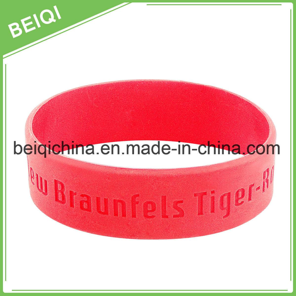 Customized Silicone Bracelet for Promotion