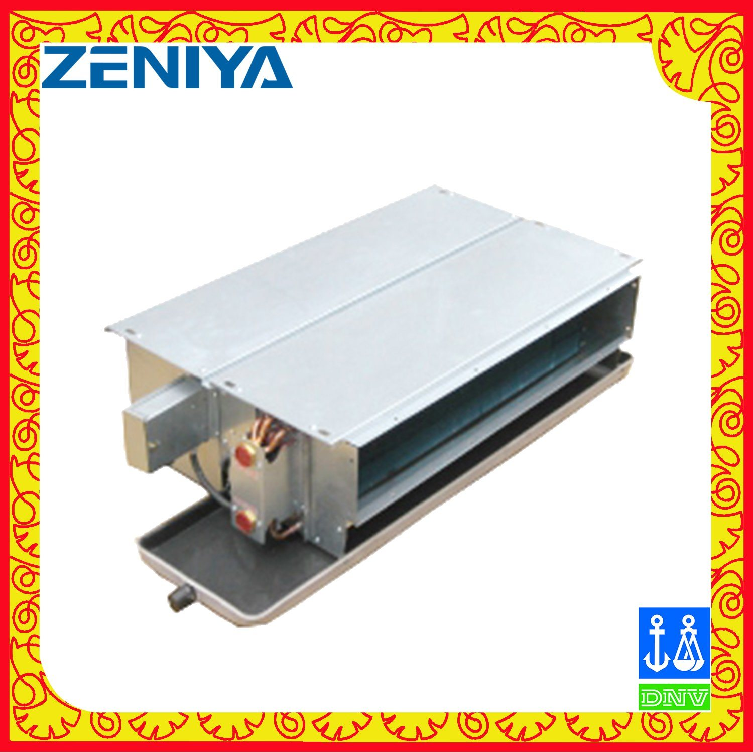 Horizontal Ceiling Concealed Duct Fan Coil Unit for HVAC