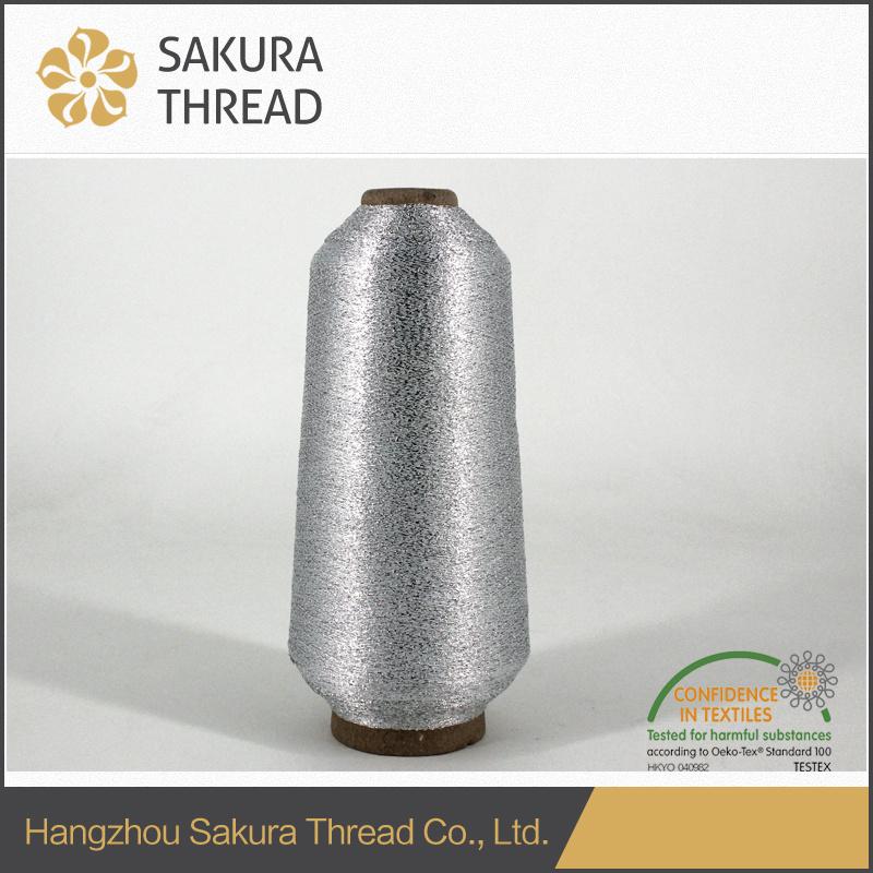 Sakura Mx Type Polyester Metallic Thread for Trademark Embroidery