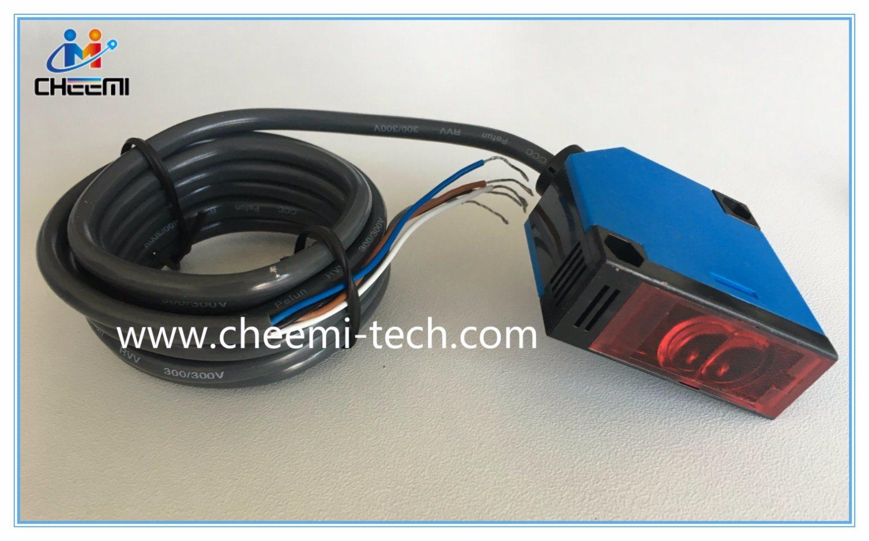 Diffuse Reflection 30cm Detecion Range DC No Photoelectric Switch Sensor