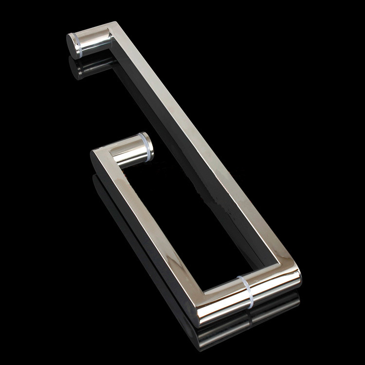 Chrome Shower Door Glass Handle Hinge