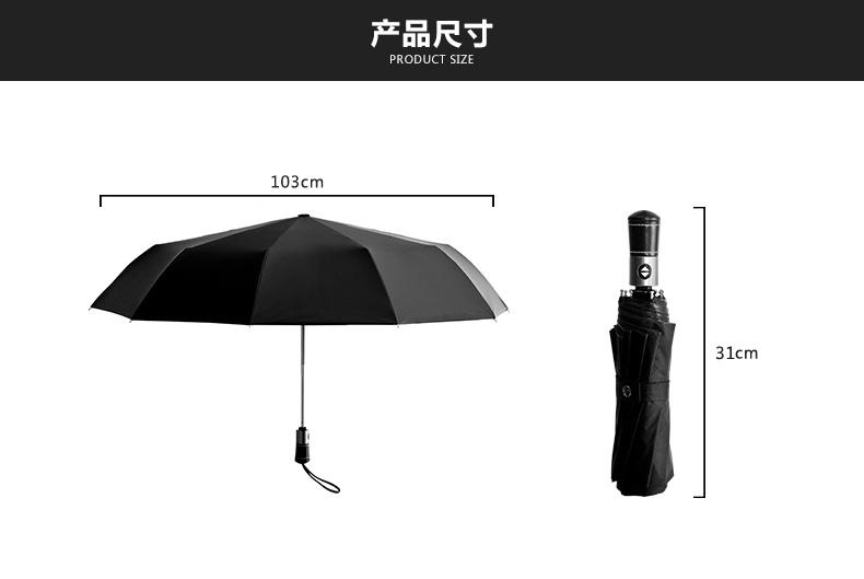 10k Tri-Folded Umbrella