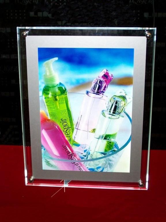 LED Photo Frame Acrylic Display