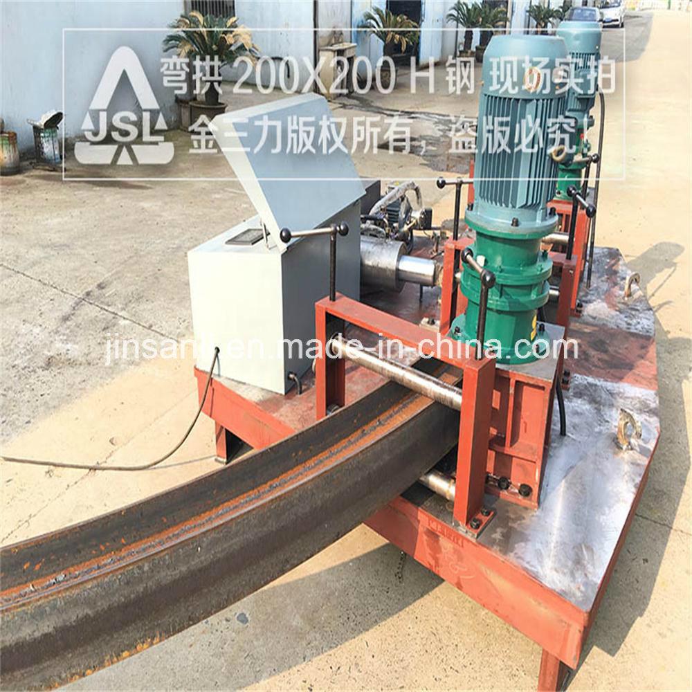 Jsl Bending Structural Steel Heb Tunnel Bending Machine