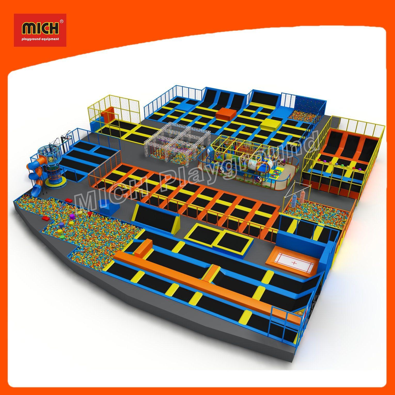 2017 Mich Trampoline for Kids Amusement Park