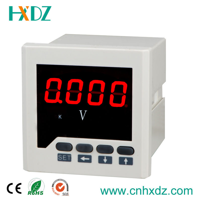 High Quality Single Phase LED Electric Digital Voltmeter AC 0-500V