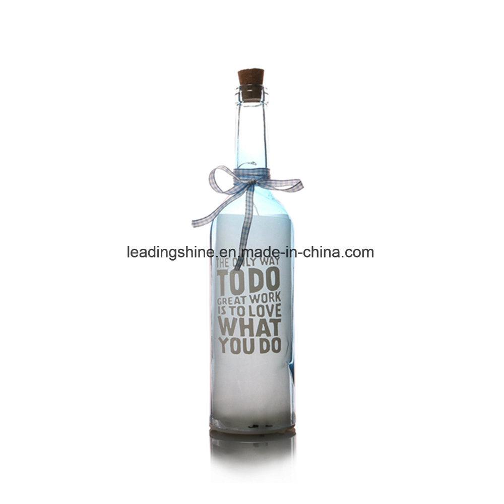 Friends Family Starlight AA Battery Warm White Light up Bottle Christmas Birthday Gift Work Mate