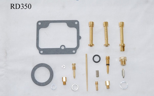 1973-1975 YAMAHA Rd350 a/B K&L Carburetor Carb Repair Kit