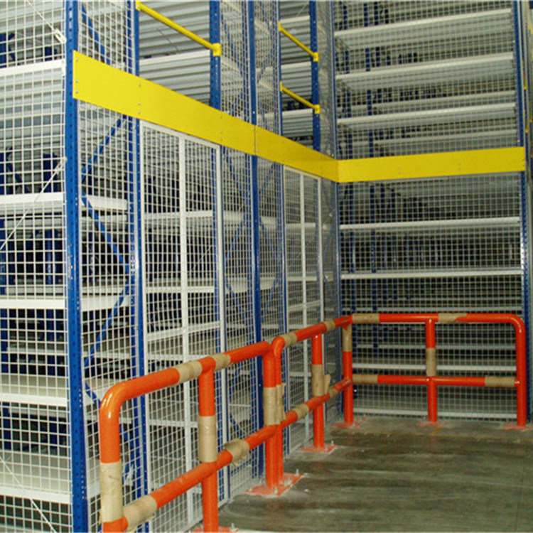 China Manufacturer 2 Levels Mezzanine with Steel Grating