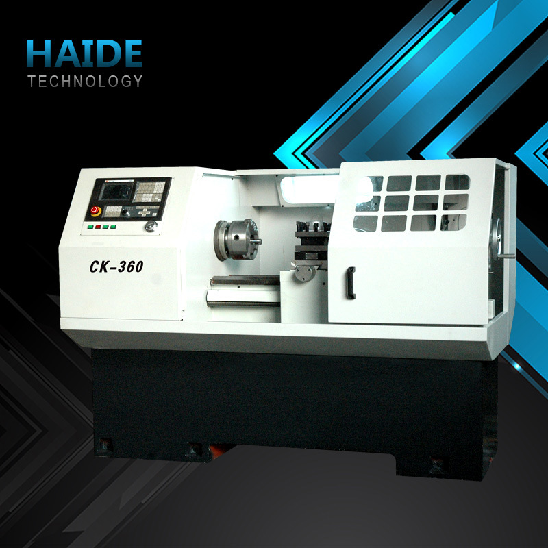 Hnc-32 CNC Lathe Machine with Slant Bed (7)