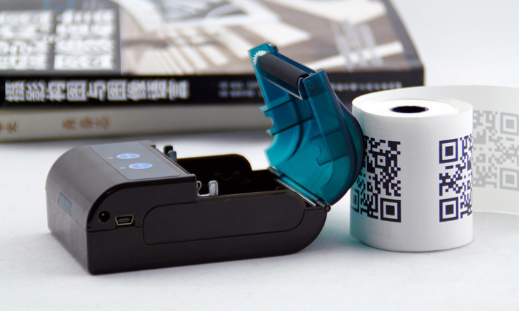Wireless Portable Barcode Label Printer Android