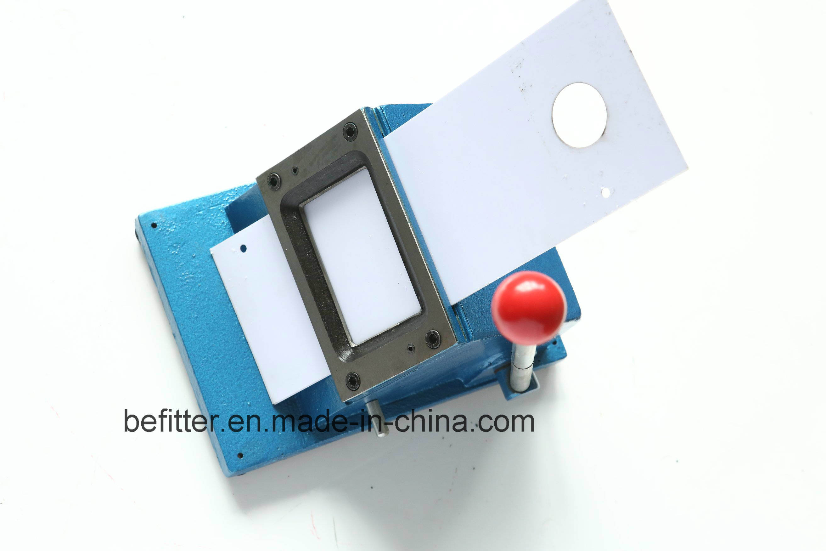 Business card cutter unlimitedgamers china d 010 9055mm manual square die business card cutter machine reheart Gallery