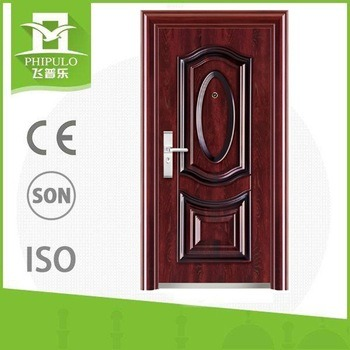 Morden Lowes Wrought Iron Simple Gate Design Steel Door