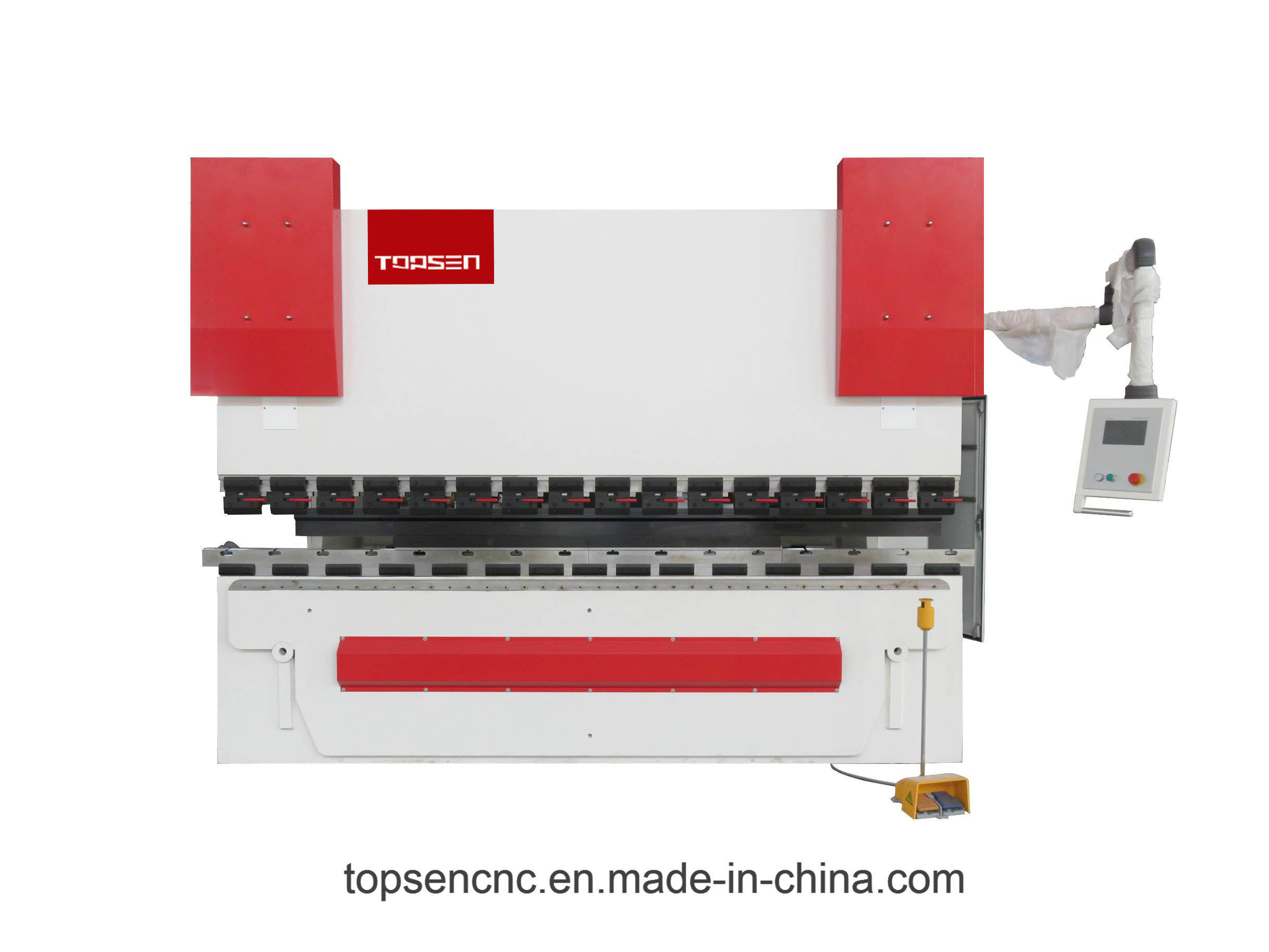 3+1 Axis Cybelec CT8 Touch Screen Press Brake