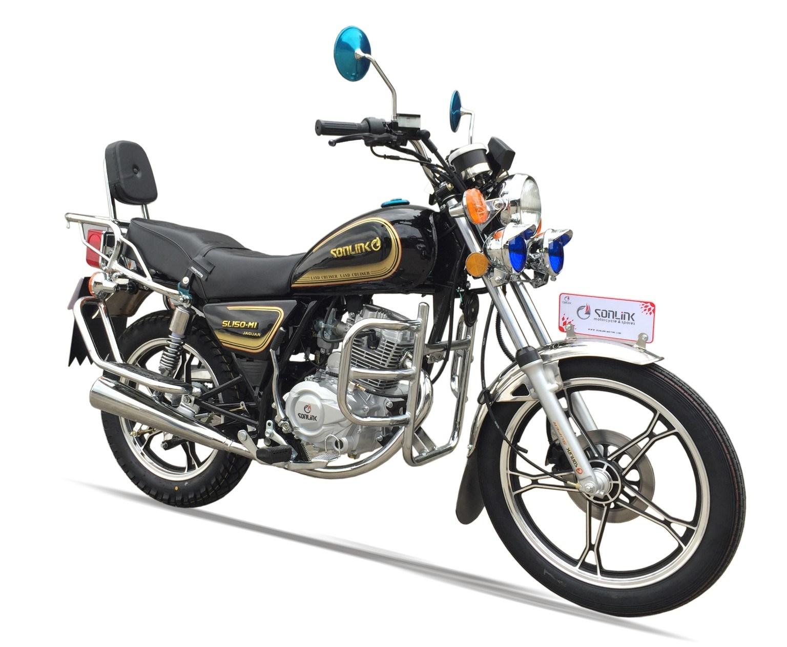 125/150cc New Gn Disc Brake Alloy Wheel Motorcycle (SL125-M1)