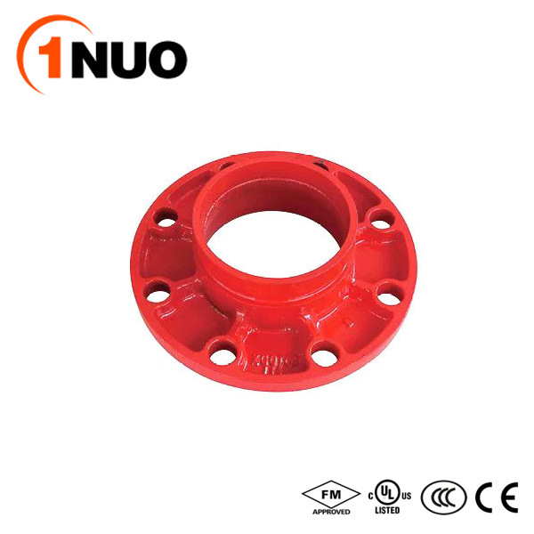 FM/UL/Ce Certified Epoxy Pipe Fittings Cast Iron Split Flange-Pn15