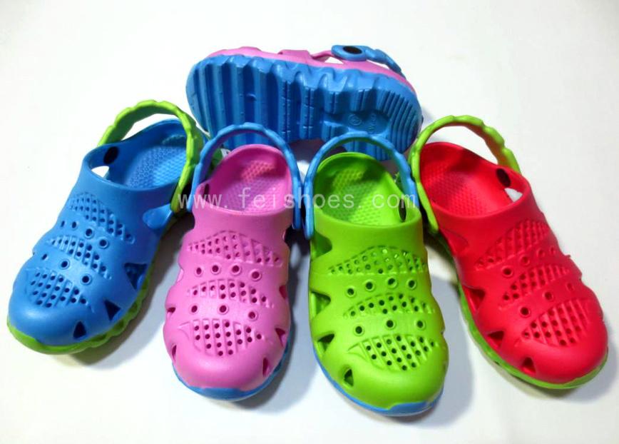 Fashion & Comfortable Children EVA Clogs (LW-077)