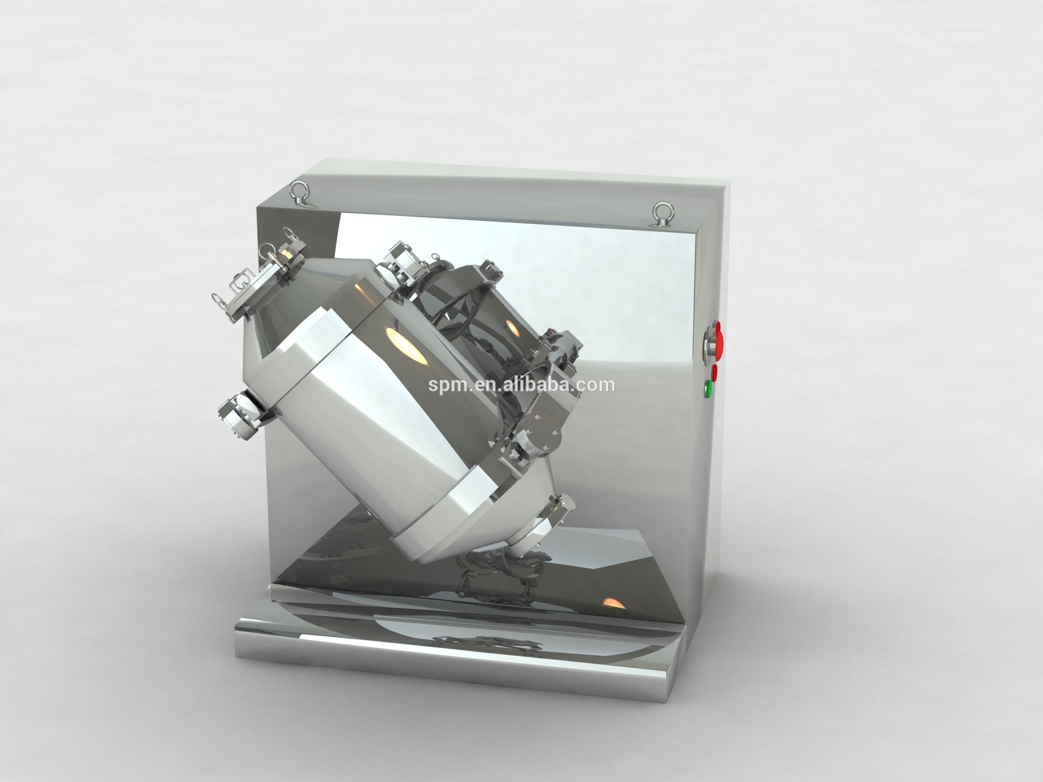 3D Motion Powder Mixer