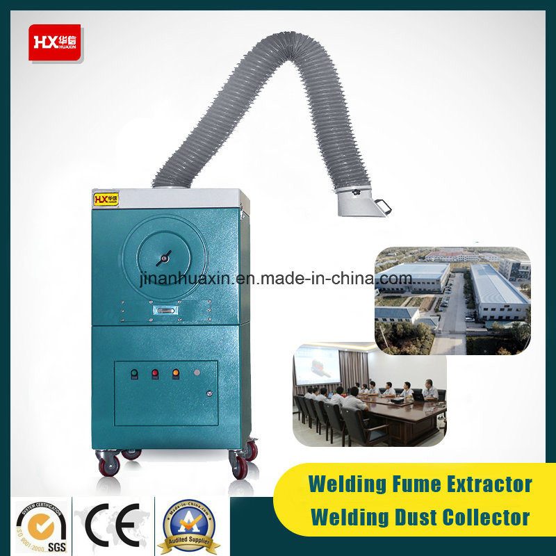 Moveable Welding Fume Collector (cartridge filter) 99.99%