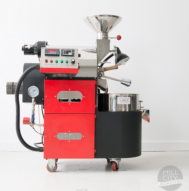 2kg Commercial Coffee Roaster/2kg LPG Propane Coffee Roaster