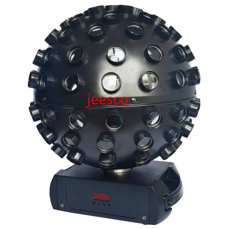 Newest RGBWA+UV 6in1 LED Big Magic Ball Light 98 Eyes