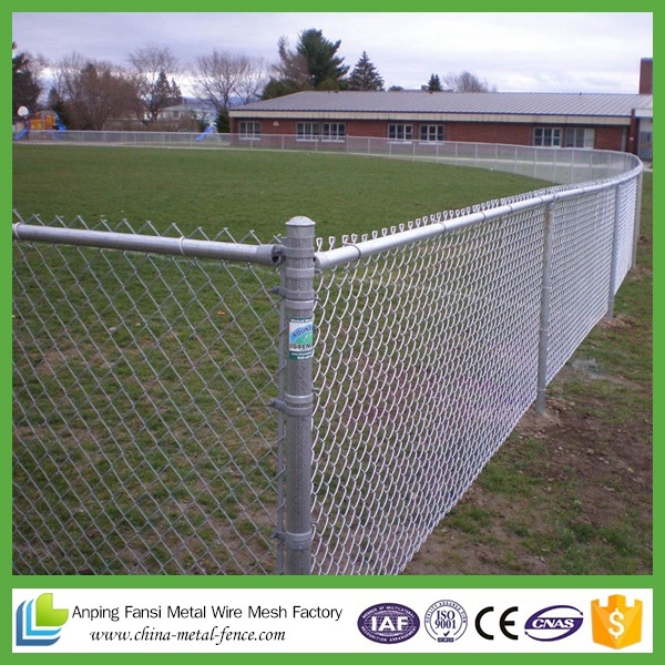 Australia Standard Rural and Industrial Sites Chain Link Fence Wholesale