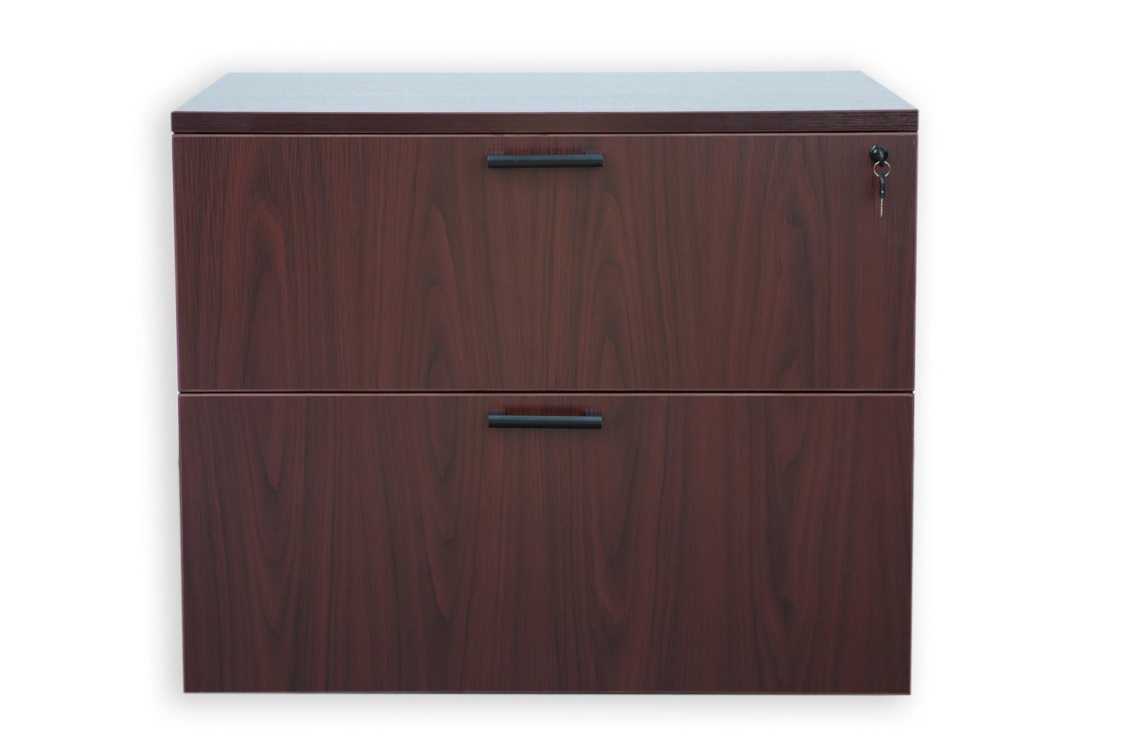 Modern Design Storage Cabinet 2-Drawer Lateral File