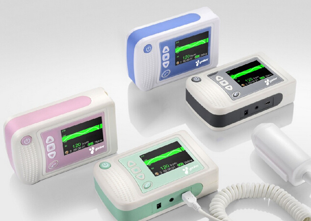 CE Approved Digital Handheld Fetal Doppler Portable Fetal Doppler