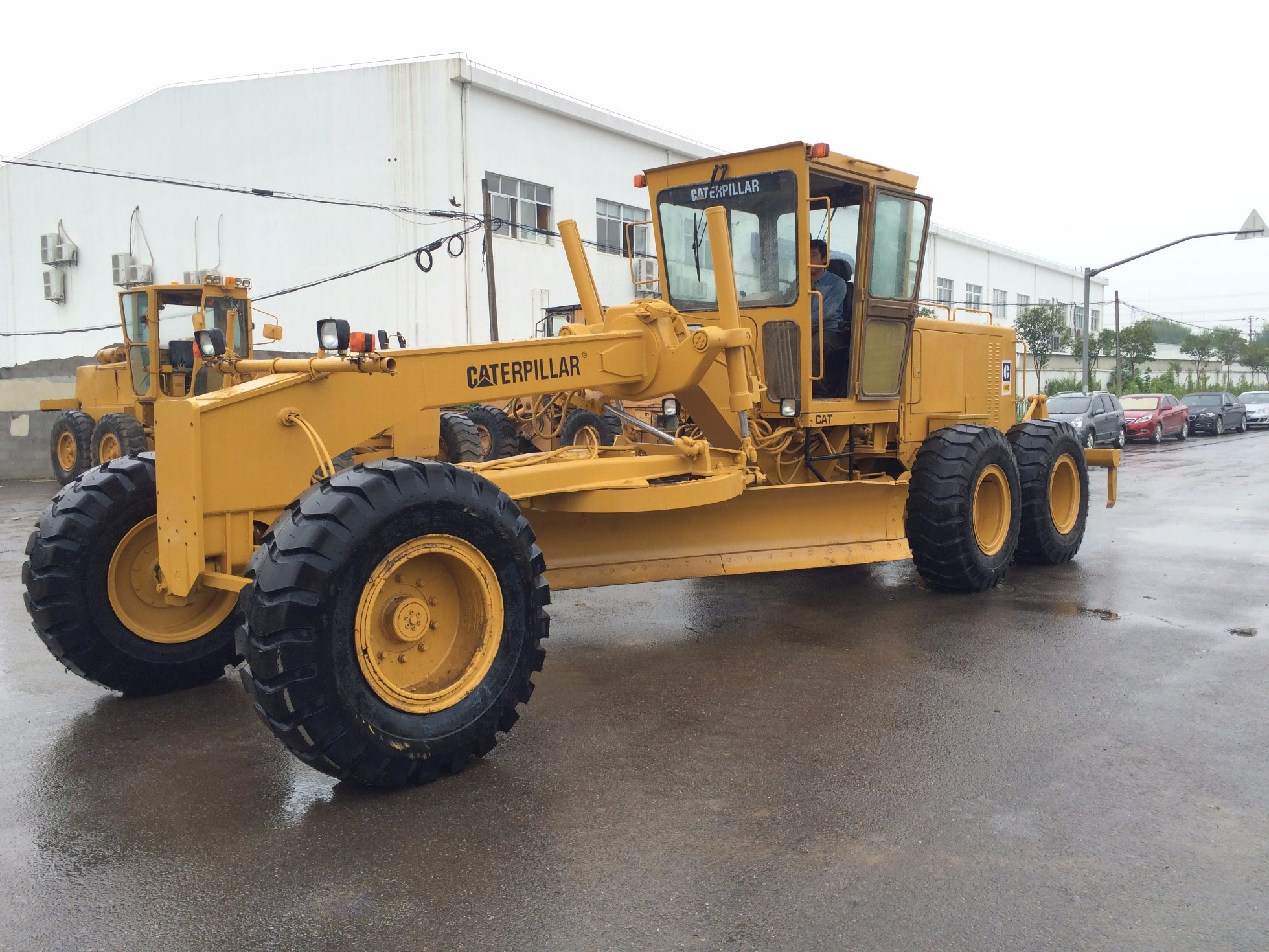 Used Caterpillar 140 Motor Grader Cat 140g Grader with Ripper