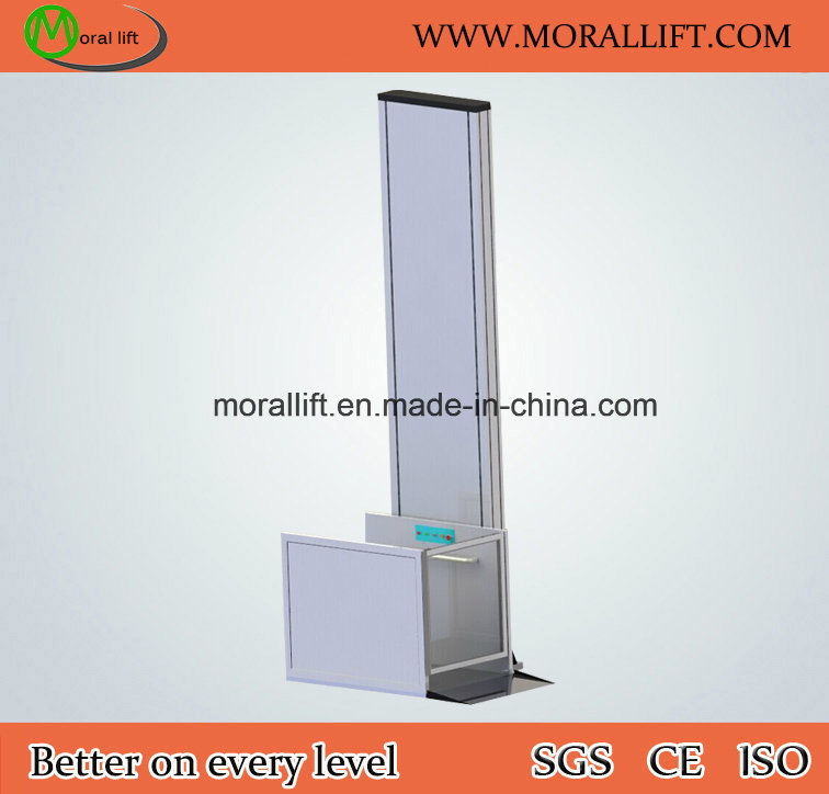 Hot Sale Vertical Model Hydraulic Disabled Wheelchair Lift