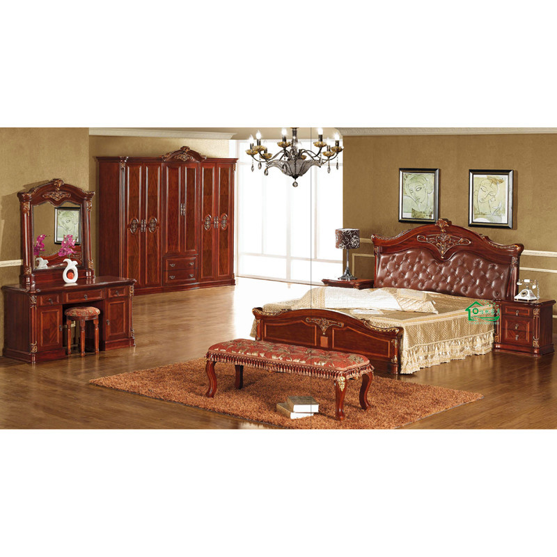 China Wooden Bedroom Furniture From Chinese Furniture Factory YF M669