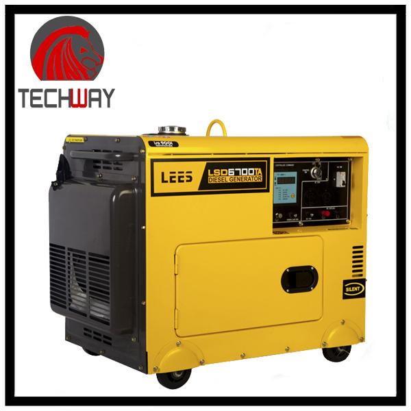 4.6kVA Air-Coold Type Diesel Generator (TWDG6700T)