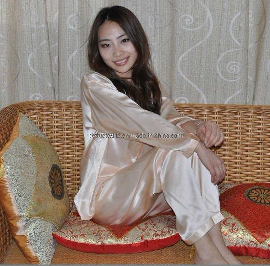 6fcc8f8e12426 Dress womens clothing: Ladies silk pajamas