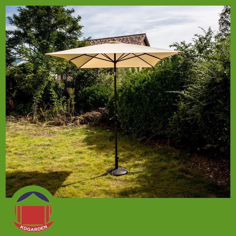 New Arrival Durable Solar Power Patio Umbrella