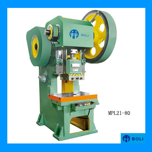 Mpl21 Series Open Front Fixed Bed Press with Adjustable Stroke