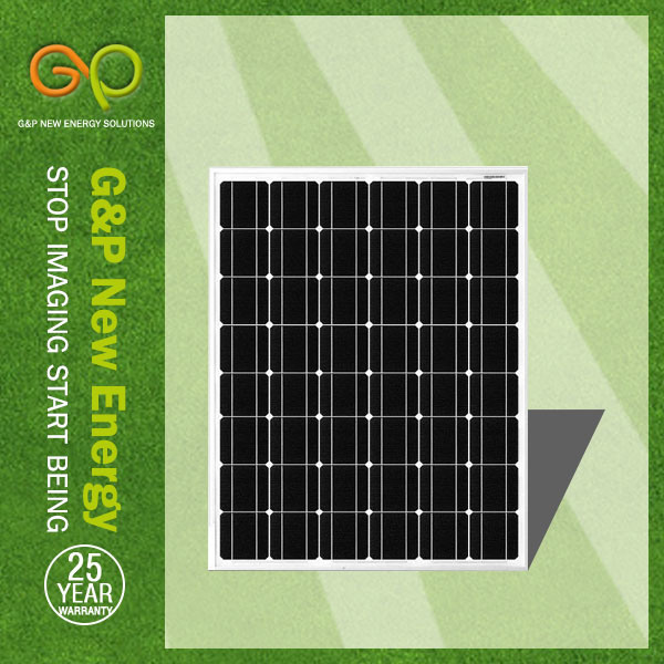 IEC Mono Crystalline 80 Watt Sharp Solar PV Panel Module