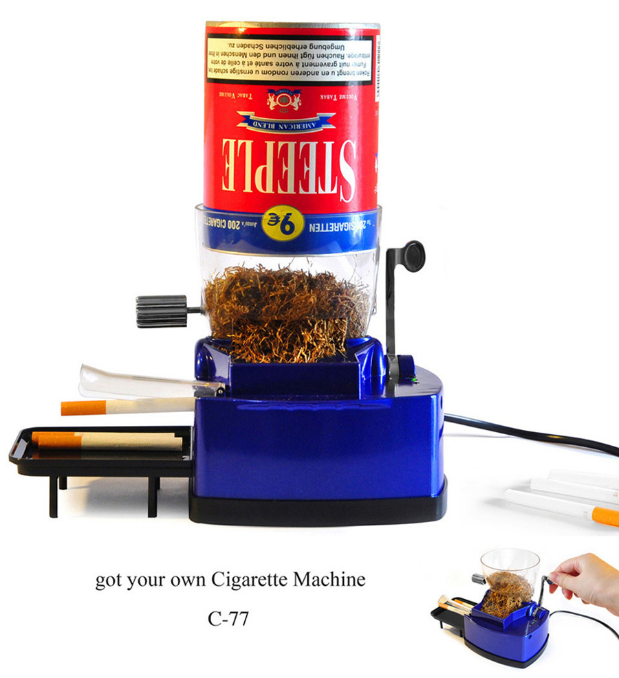 cigarette machine injector