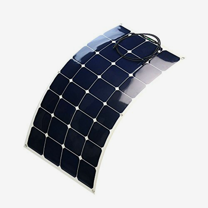Most Popular Quality Assurance Semi Flexible Solar Panel 100W