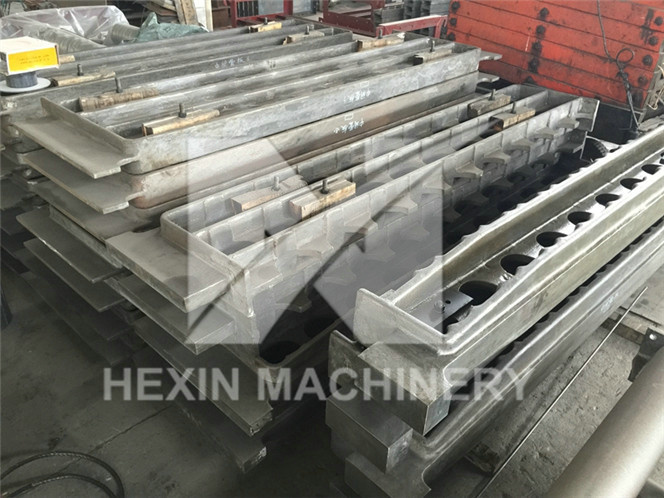 Heat Resistant Cast Tube Sheets Convection Cast Tube Supports
