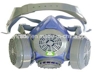 Double Filter Half Face Gas Mask, Half Face Mask Respirators
