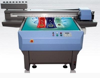 UV Glass Printing Machine with 2 PCS Epson Dx5 Heads